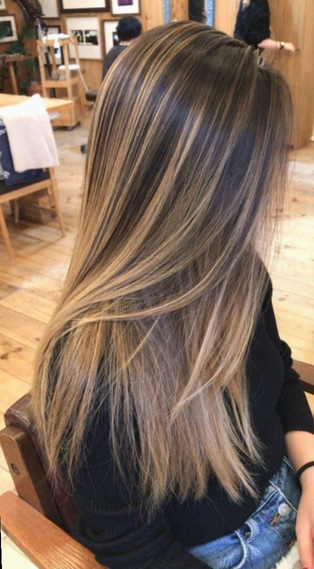Hair Ideas Long Straight Framing Great Group Brown Hair With Blonde Highlights Gorgeous Hair Color Blonde Hair Color