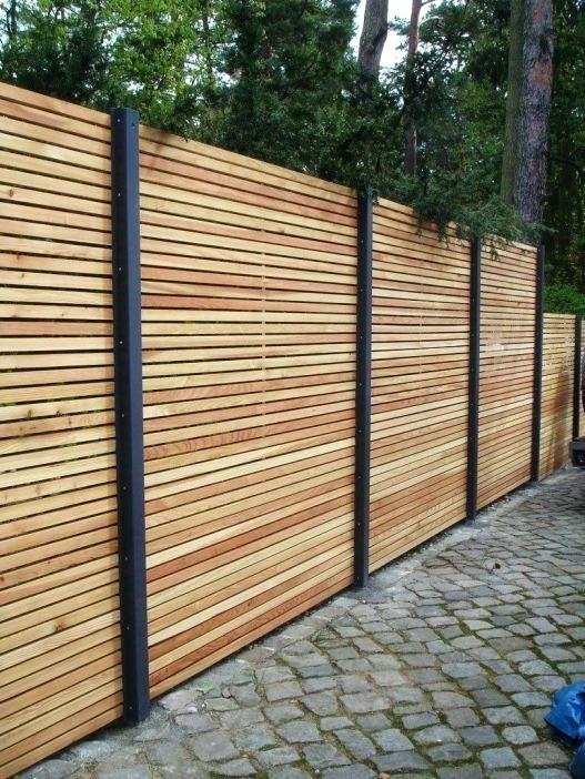 Holz Sichtschutz Garten