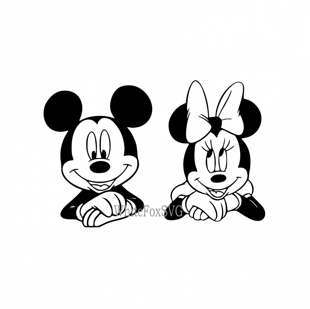 Mickey Mouse Svg Minnie Mouse Svg Cute Map symbols