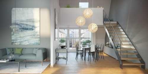 Loft Einrichtung Modern Design