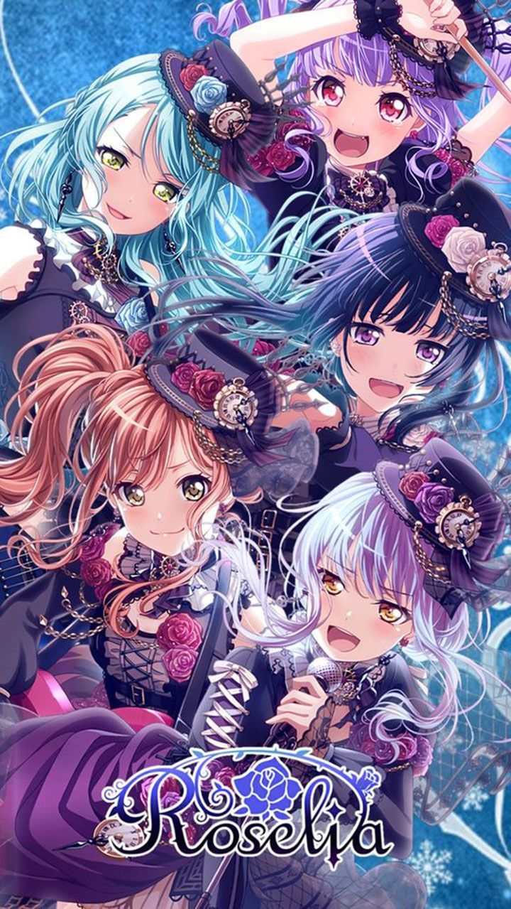 Pin Di Bang Dream Girls Band Party
