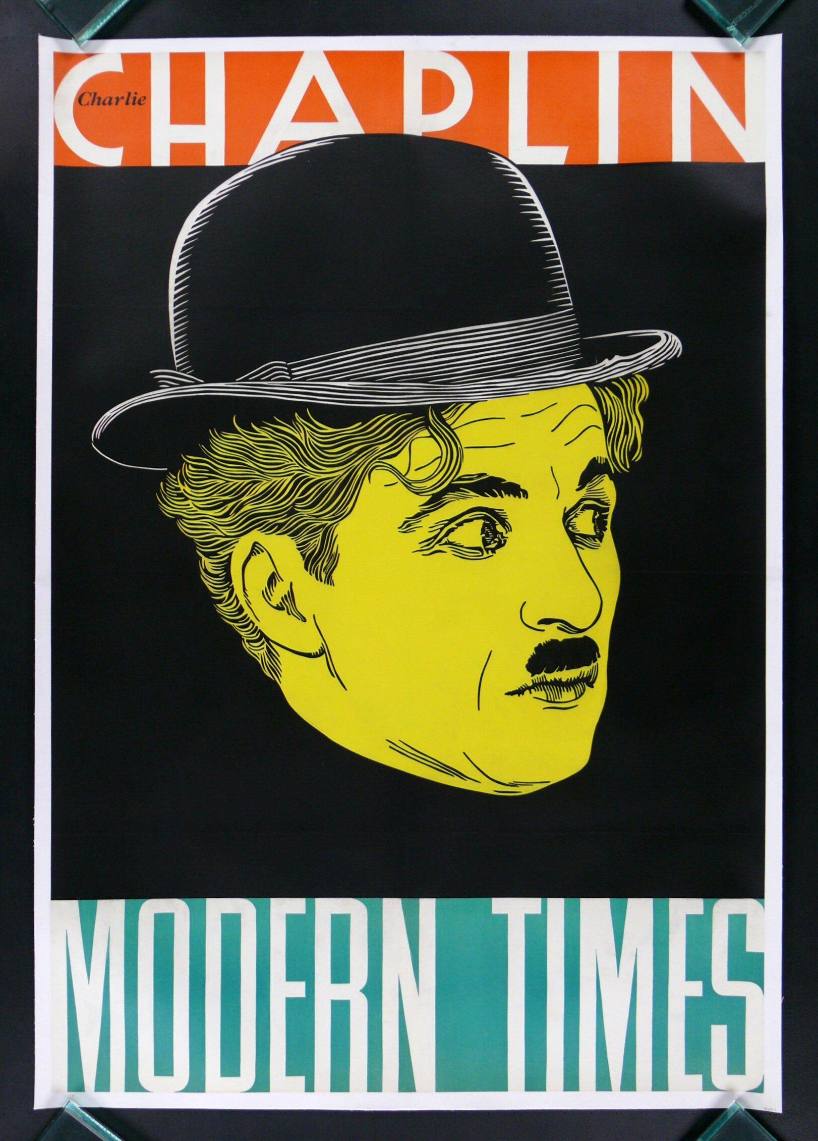 Modern times * 1sh charlie chaplin movie poster 1936 ...