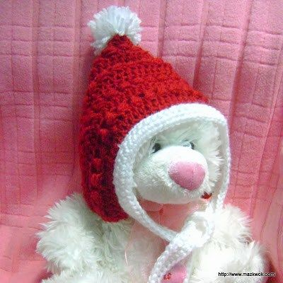 Christmas Pixie Crochet Hat Crochet Baby Toddler And Kids