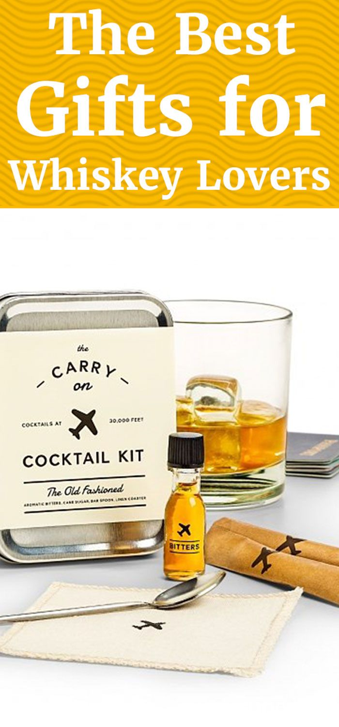 The Best Gifts for Whiskey Lovers Whiskey gifts, Whiskey