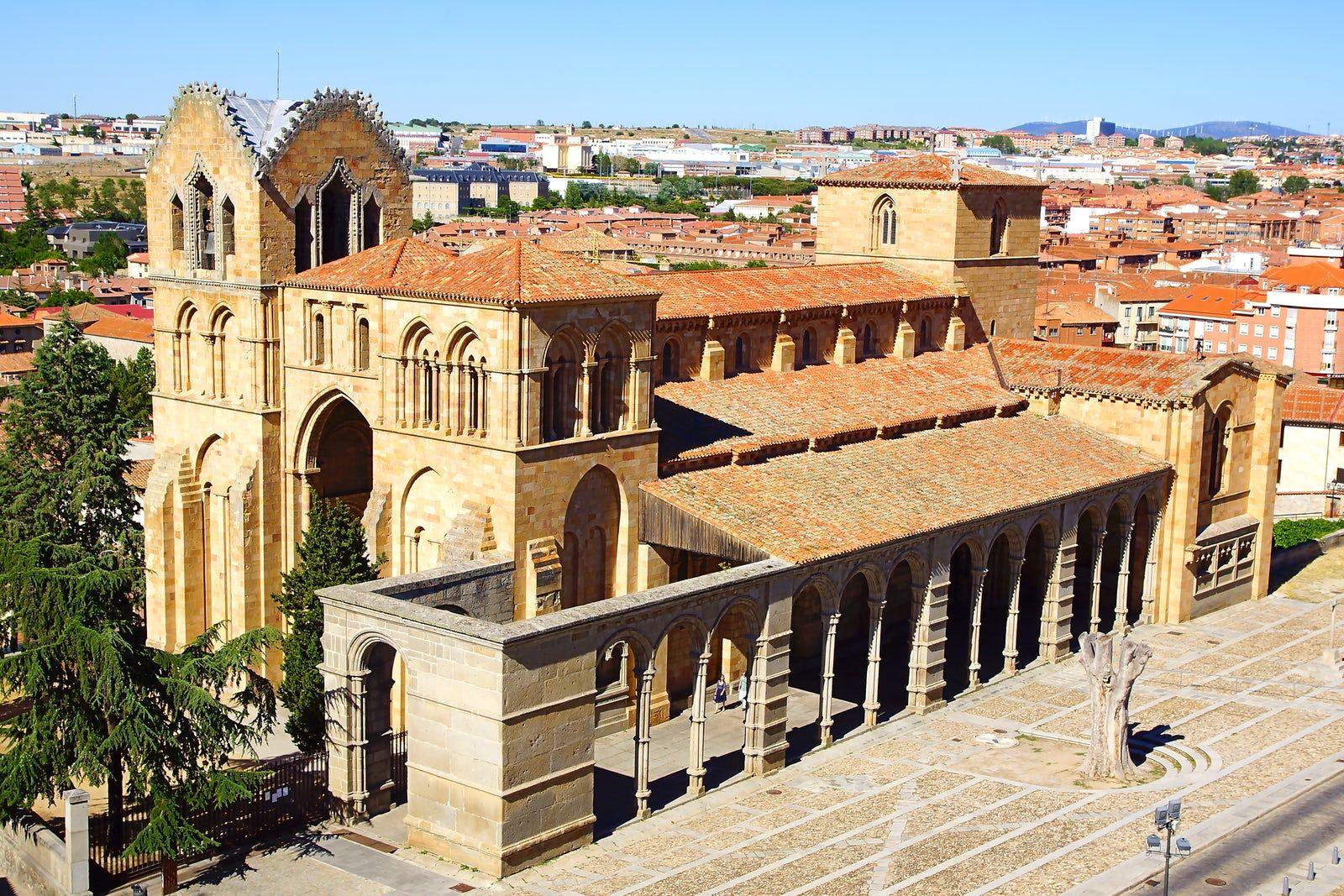 Visit Basilica De San Vicente De ávila Romanesque Architecture Roman Architecture Romanesque