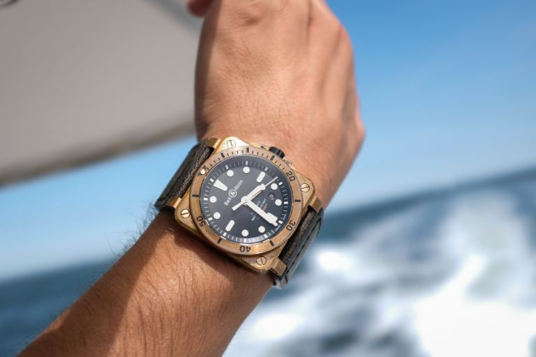 Review Bell Ross Br 03 92 Diver Bronze Specs Price Bell Ross Bell Ross Monochrome Watches