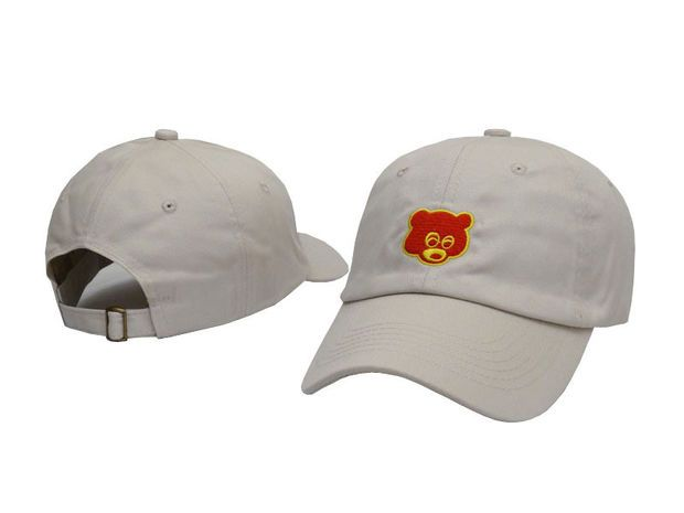 b2351ee4967e4 Kanye West The College Dropout Bear Tan Yeezus Yeezy Strapback Baseball  Fitted Trucker Cap Hat