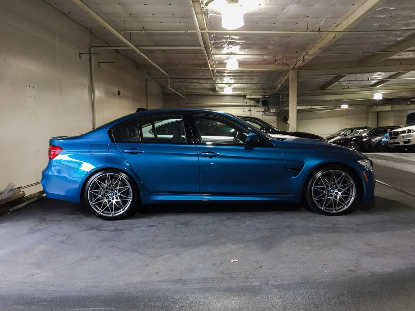 1 Of 1 Long Beach Blue M3 With Images Bmw M3 Bmw Wheels Bmw