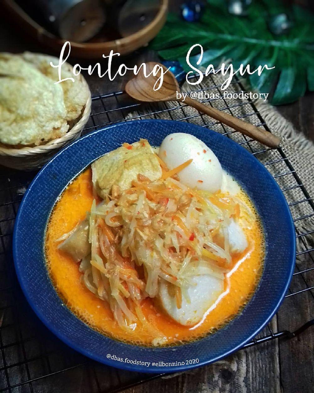 Resep Lontong Sayur Instagram Resep Makanan Asia Resep Masakan Asia Masakan