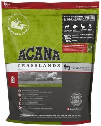 Acana Grasslands Cat 5 5 Lb Entirelypets Dog Food Recipes