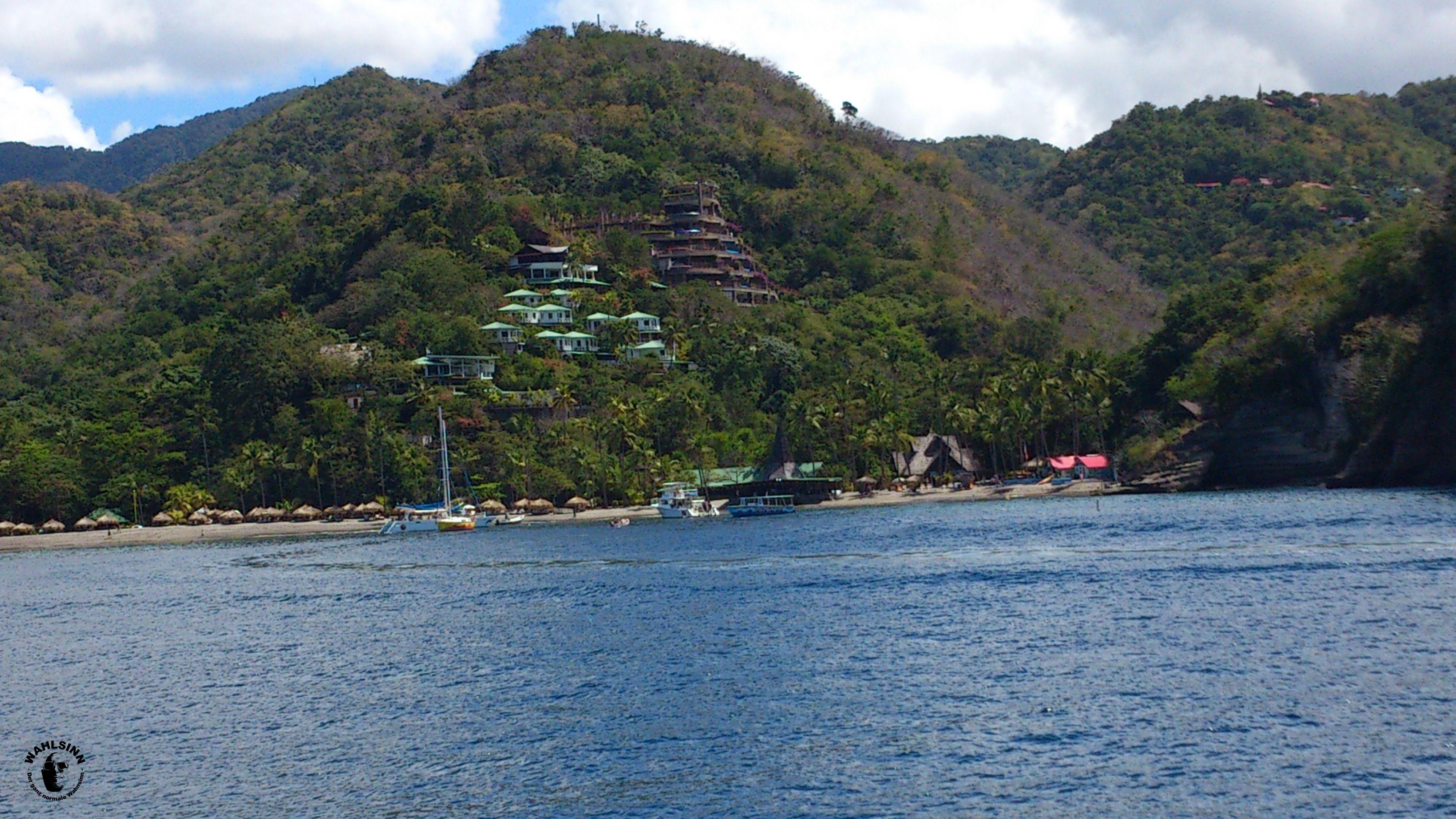 St. Lucia - Ist es eine Baustelle? Nein, ein fertiges Hotel....