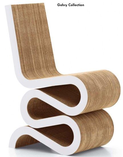Cardboard Chair Chaise En Carton Mobilier De Salon Mobilier Ecolo