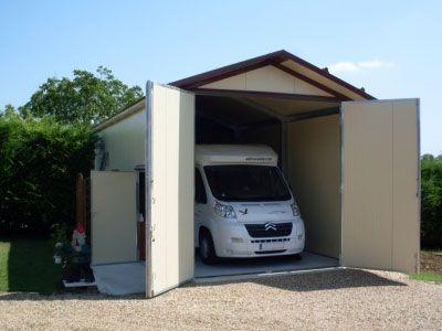 Abri ARCIS, préfabriqué isolé caravane Jardin Pinterest