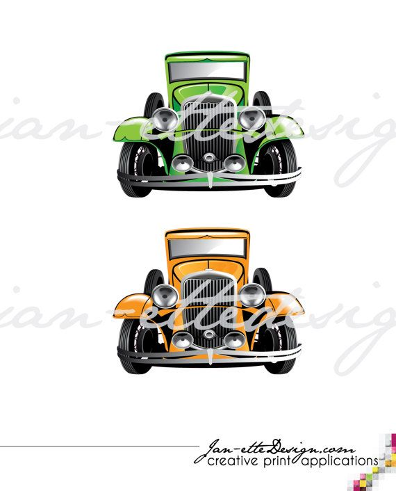 Wall Decal Large Vintage Car Fabric Wall Decal by ...