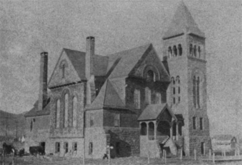 Merritt Memorial Methodist (1892)  aka Central Avenue Methodist  From Lost Duluth: Landmarks, Industries, Buildings, Homes, and the Neighborhoods in Which They Stood, copyright © 2011, Zenith City Press, Duluth, Minnesota. Image: Duluth Public Library.  4600 West Superior Street  Architect: Unknown  Built: 1892 | Lost: 1993