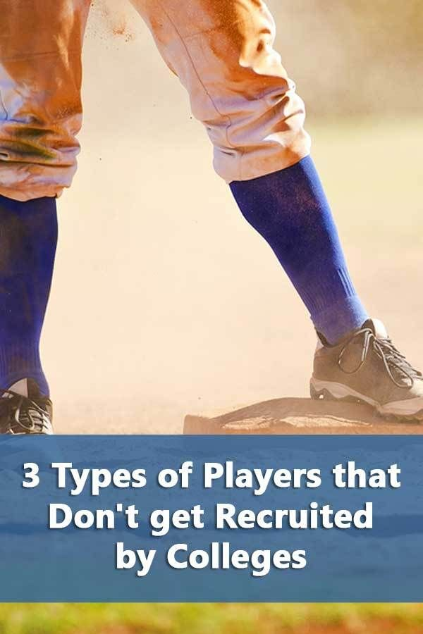 Photo of 3 Types of Players that Don't get Recruited by Colleges – Do It Yourself College Rankings