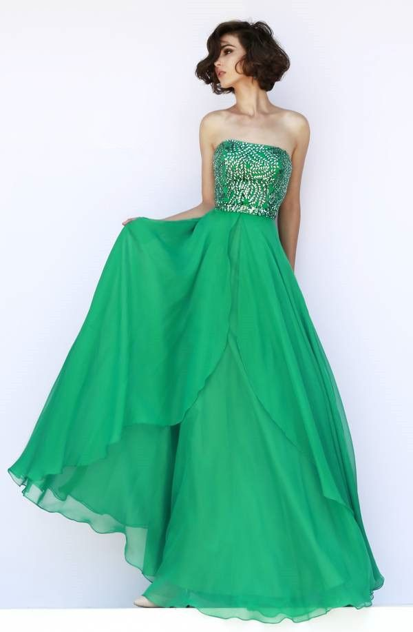 2015 Summer Strapless Black Empire Homecoming/Prom Dresses with Beading