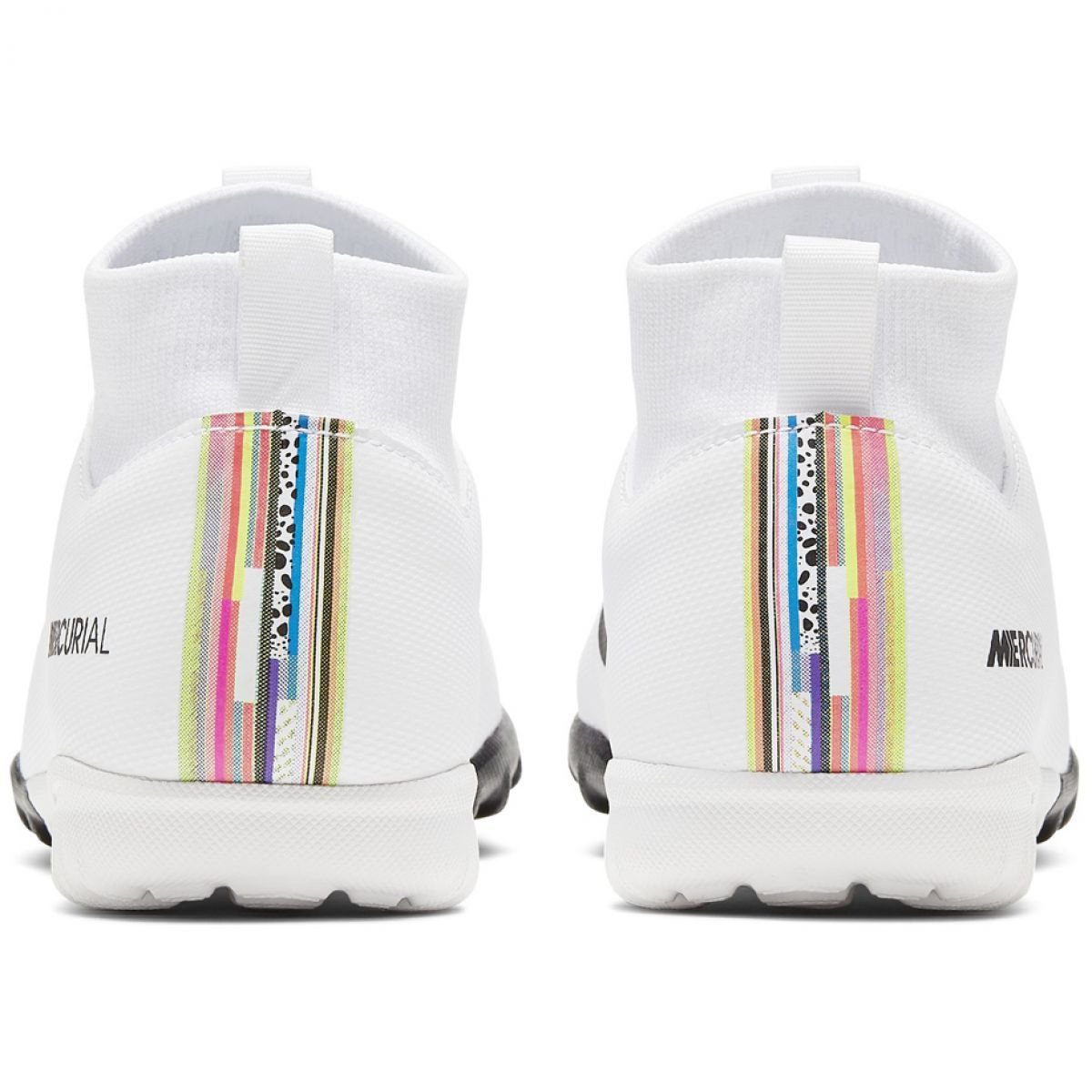 Buty Pilkarskie Nike Mercurial Superfly X 6 Academy Tf Jr Aj3112 109 Biale Wielokolorowe Football Boots Superfly Nike