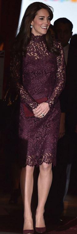 Lace dress suede shoes