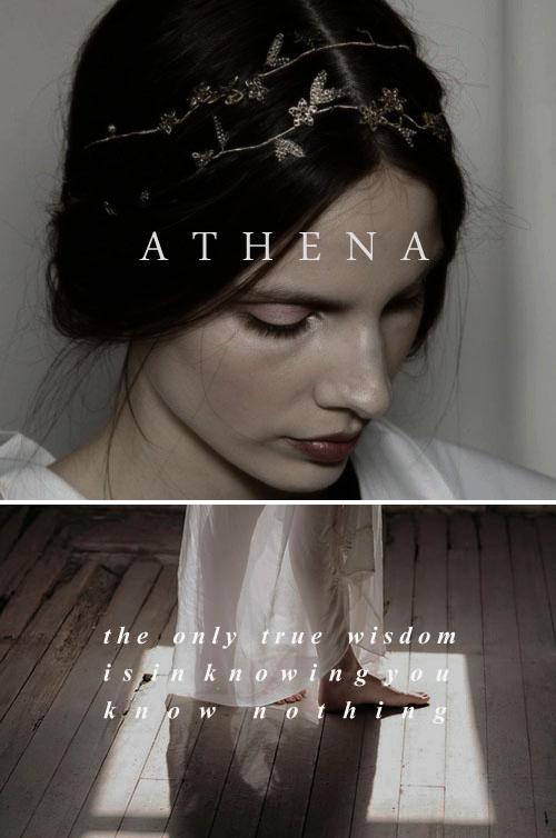 athena / αθηνά: daughter of zeus, the goddess of wisdom