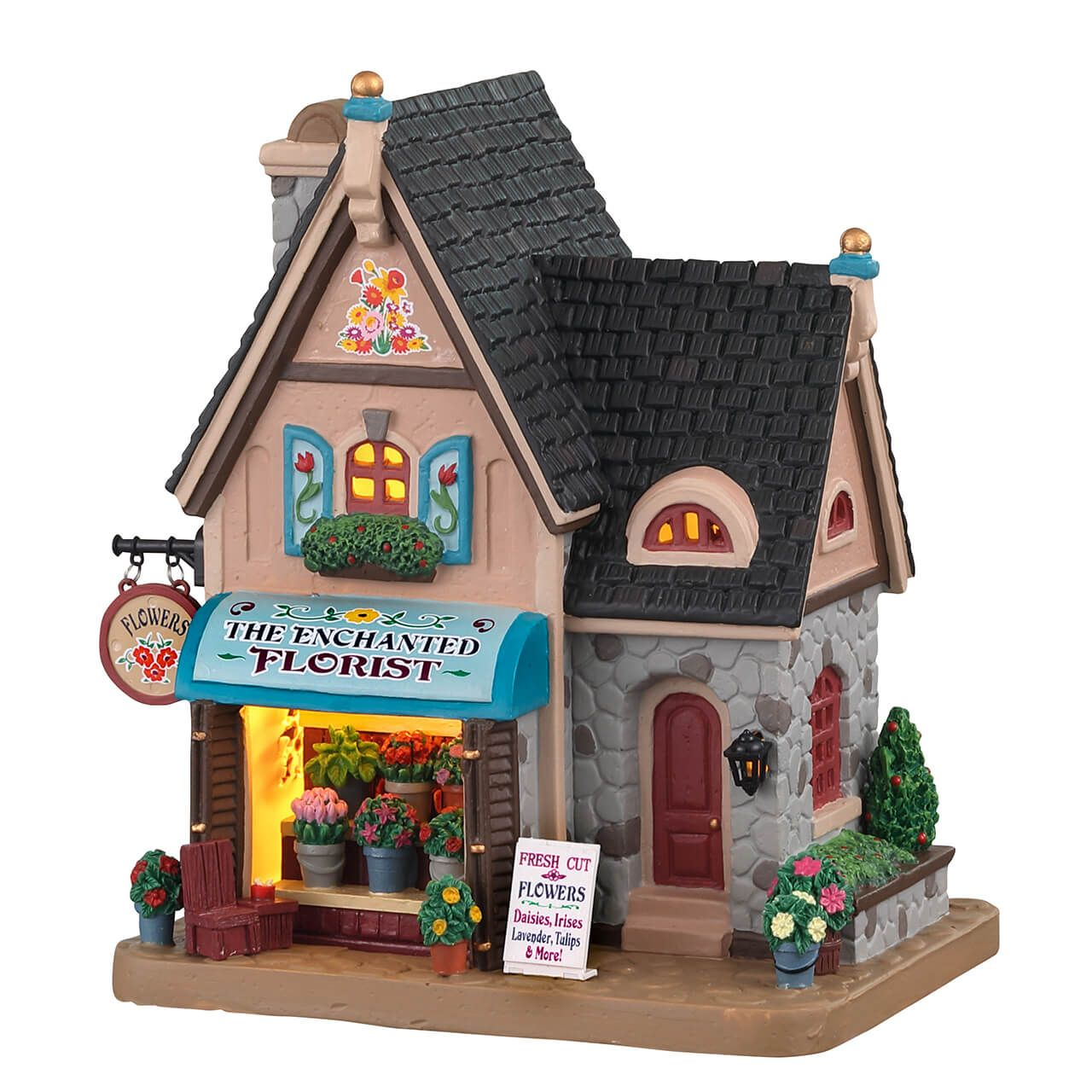 Enchanted Christmas Village 2020 Lemax The Enchanted Florist in 2020 | Enchanted florist, Christmas
