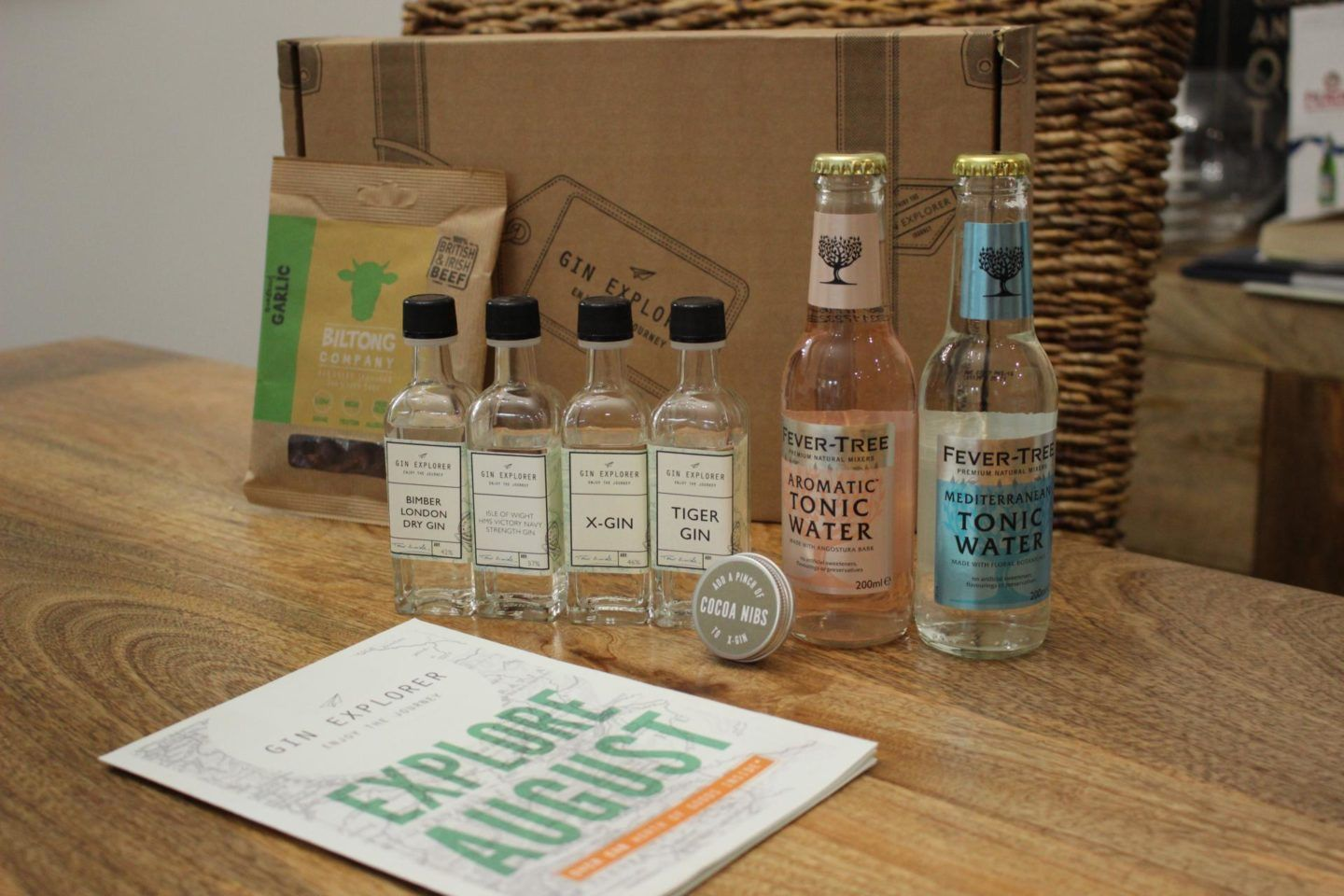 The Gin Explorer Subscription Box Review Gin