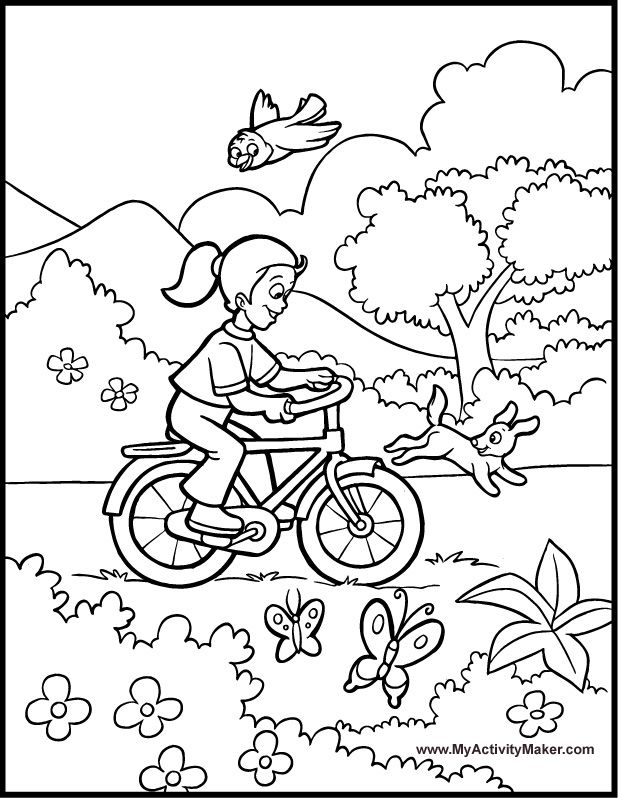 Coloring Pages seasons | Coloring Pages: Seasons | My Activity Maker