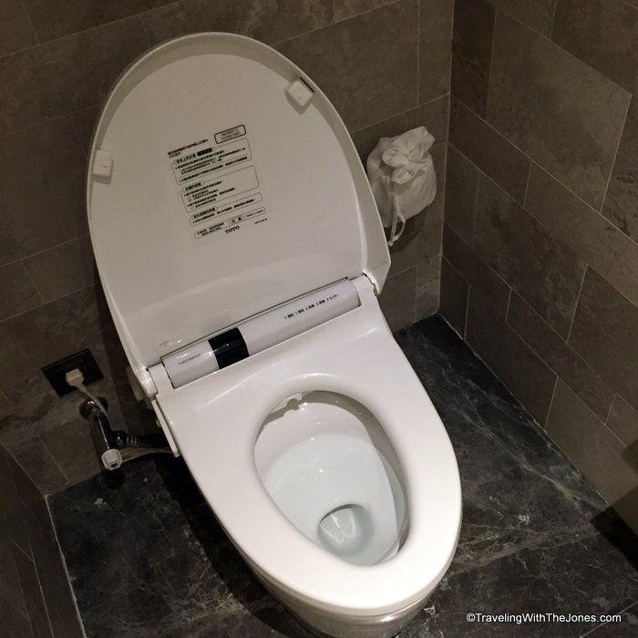 Toto heated seat toilet, Suite 829, Taipei Marriott | Taiwan ...