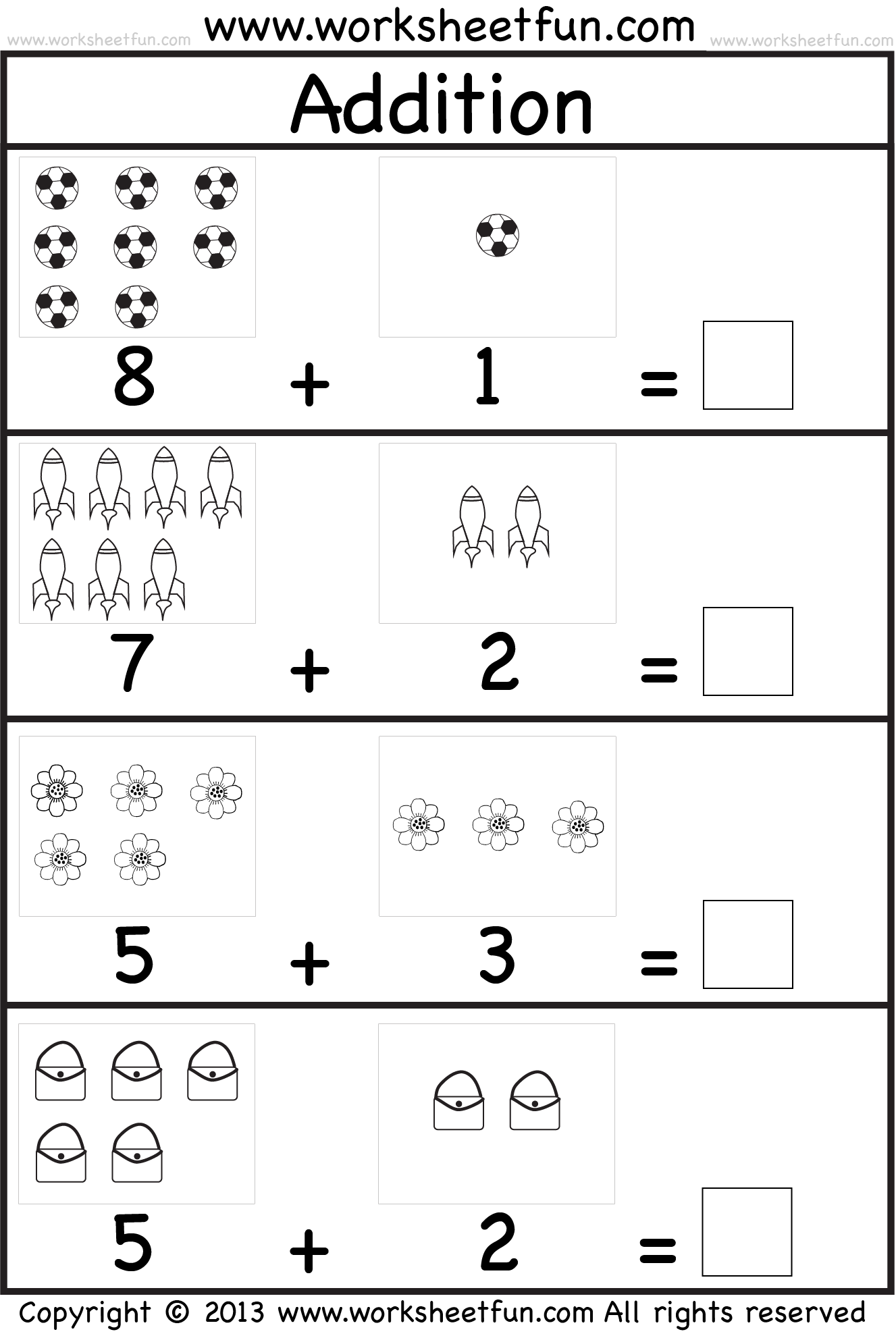 Kindergarten Addition Avec Images