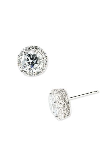Nordstrom Pavé Round Stud Earrings available at Nordstrom