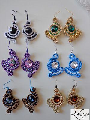 Maleńkie kolczyki z kryształkami w różnych kolorach | Lolissa sutasz