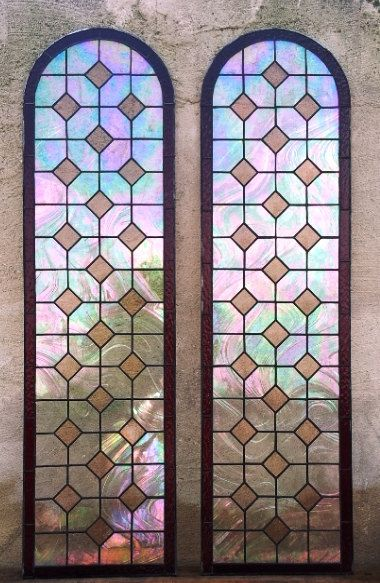 These Marvelous Windows Can Work Either As Door Panels Or Sidelights For The Outstanding Background We Used A Cle Stained Glass Door Stained Glass Glass Door