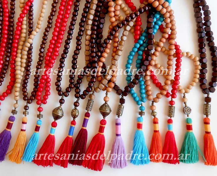 Red Hematite Beads japa-mala-rosario-tibe...