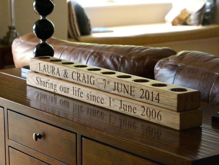 Best 20 wooden 50th anniversary gift ideas that are great