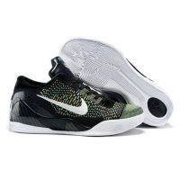 pretty nice 82451 9baa2 Nike Kobe IX 9 Elite Low black rainbow mens basketball shoes