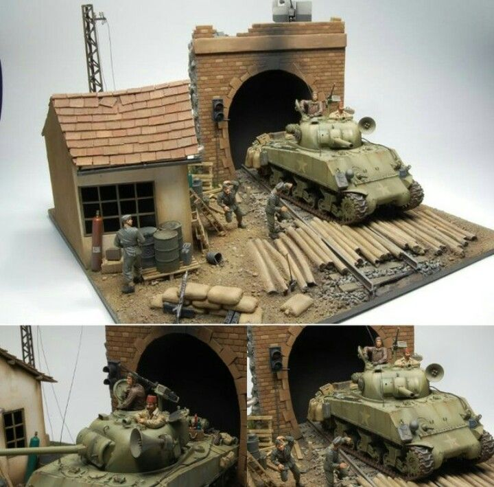 M4 Sherman Diorama Movie Kelly S Heroes Military Diorama