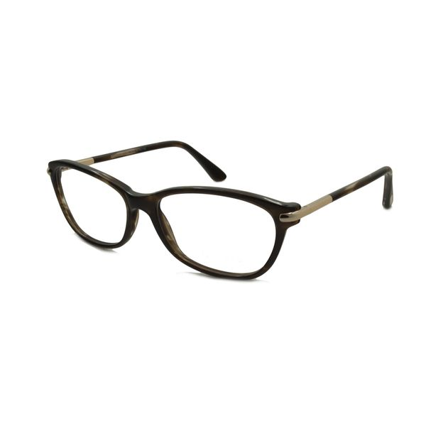 29d570da58cef Tom Ford Womens TF5142 FT5142 052 Spotted Brown Rectangle Plastic ...