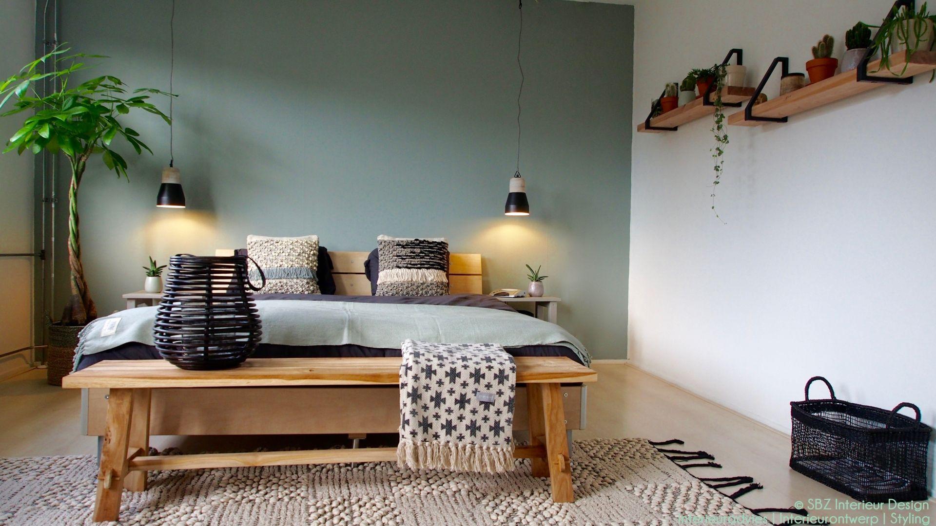 Interieur styling  Slaapkamer makeover in Amstelveen