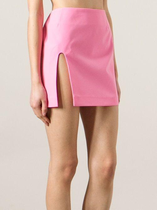 cbf9b3b88d Women - Jacquemus Side Split Mini Skirt - WOK STORE