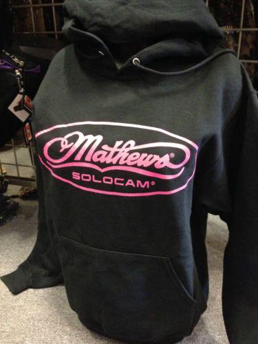 Mathews Pink Logo Ladies Hoodie New 2014 Style Medium | eBay