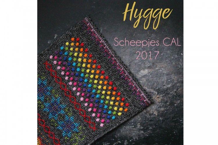 Scheepjes Cal Pack 2017 Hygge Rainbow 21 X Balls Wolle