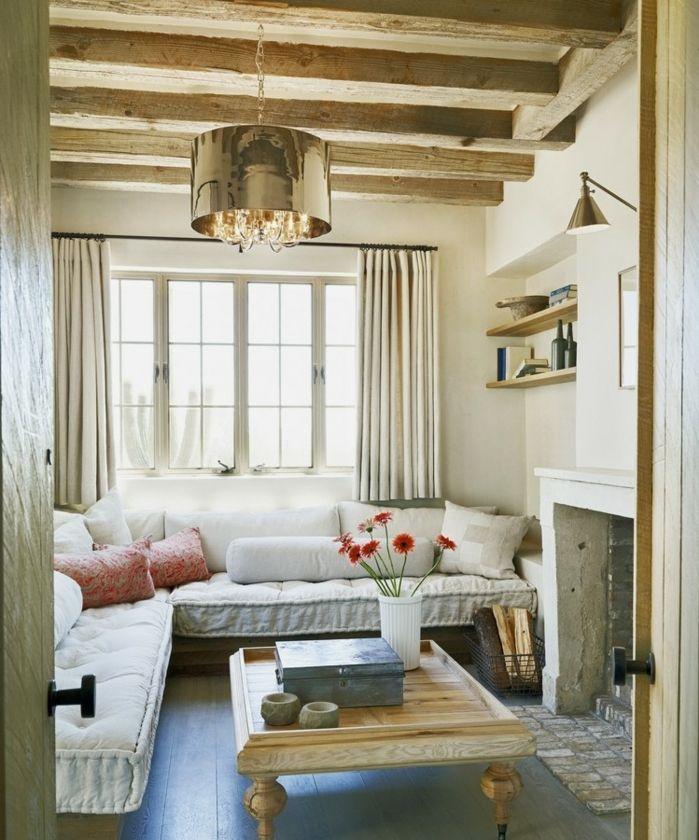 ▷ 1001 + conseils et idées pour aménager un salon rustique Salons