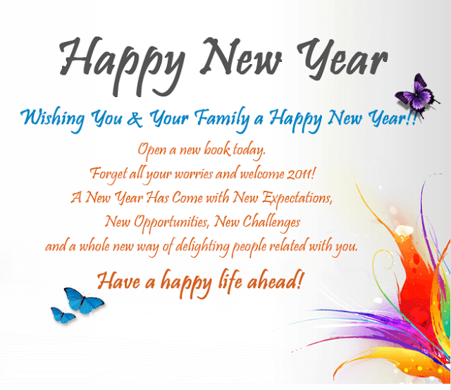 top 25 happy new year wishes messages 2019 all time best