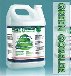 Green Gobbler - Fast and Powerful - Cuts through Grease - Great for Halloween