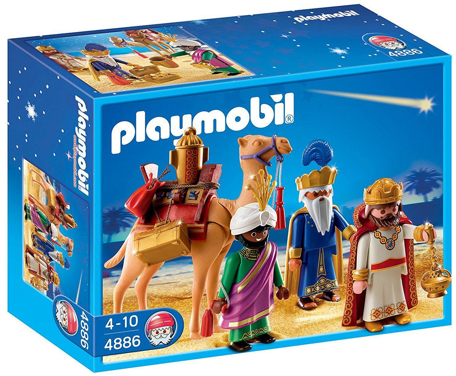 86e8cc07dd8 Playmobil - Reyes Magos (4886)  Amazon.es  Juguetes y juegos ...