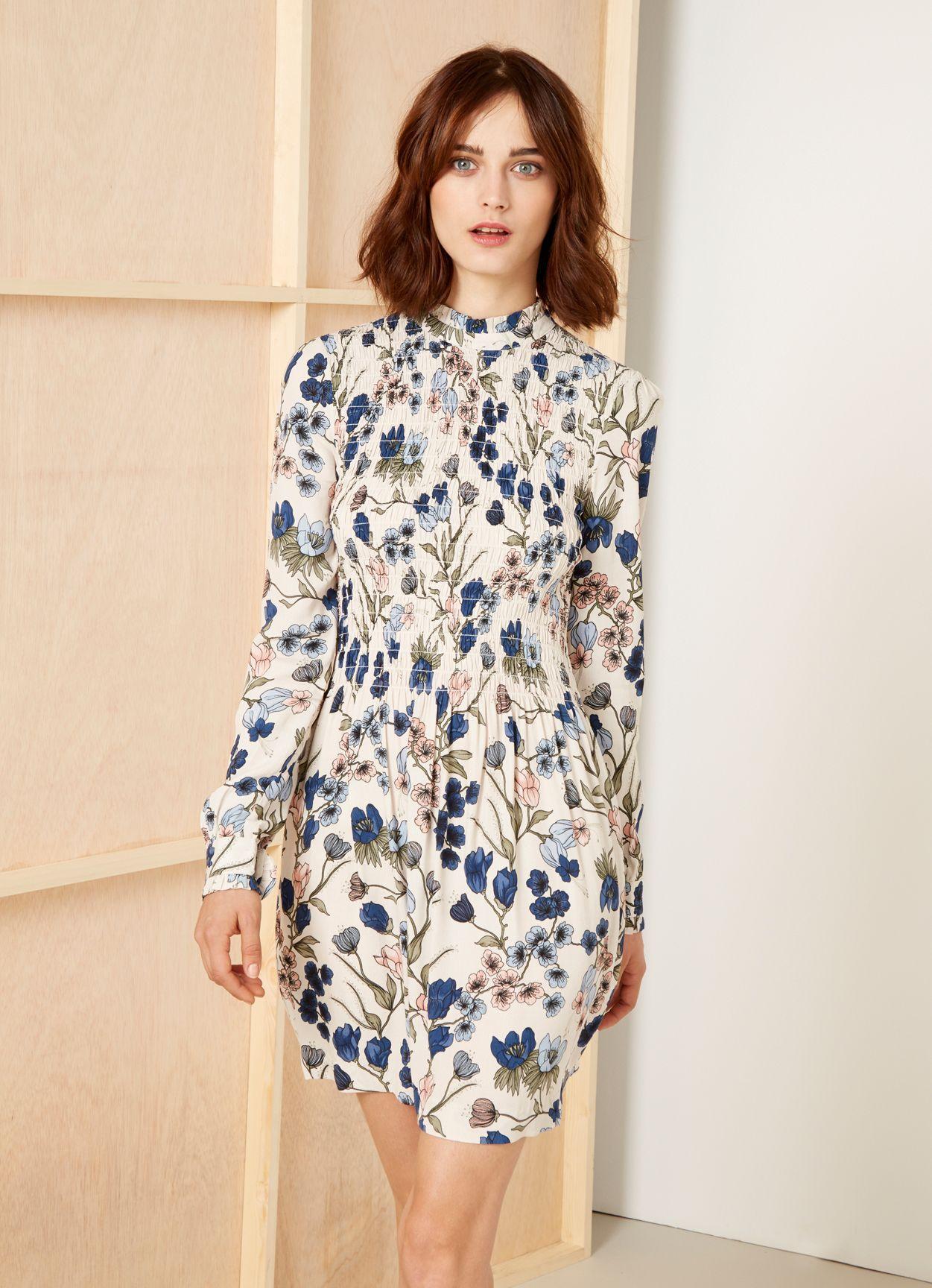 Kleid mit Blumenmuster JASMINE