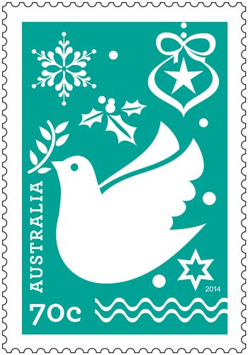 These festive and colourful contemporary stamps represent the familiar trappings and sentiments of Christmas celebration and recall techniques of paper cut design as well as snow crystals.  Order in-store or online: http://auspo.st/1xSyHJy #stampcollecting