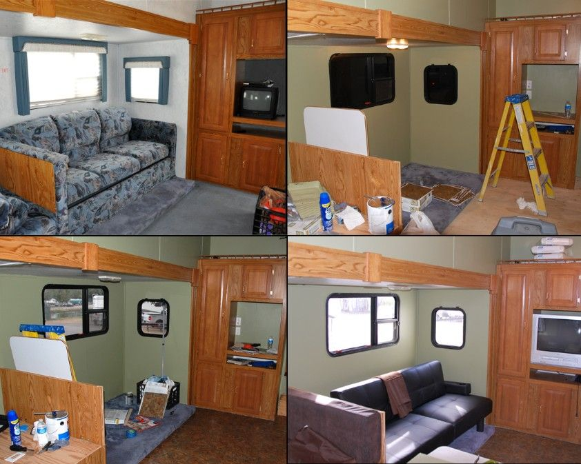 The Lundy 5: RV remodel, more pics   Remodeled campers, Rv ... on Small:xmqi70Klvwi= Kitchen Renovation Ideas  id=33971