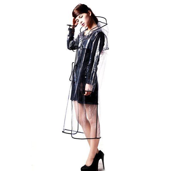 2D Clear Raincoat | GEEKYGET