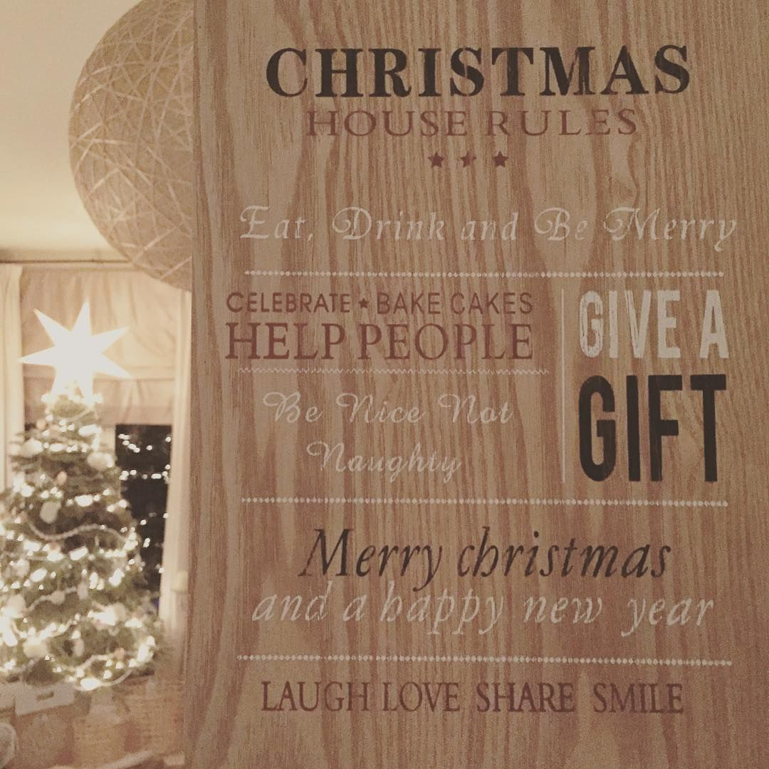 Christmas Rules Christmas2015 Tistheseason Whatitsallabout Lovethistimeofyear Interior123 Interior125 In In 2020 Christmas House Helping People Christmas 2015